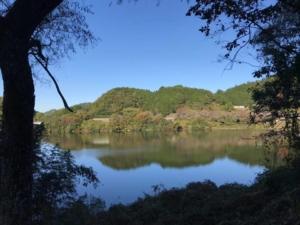 布目ダム湖