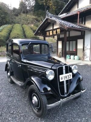 二代目院長・清の往診車 ダットサン・セダン1937年型 オールドクリニックの収蔵品⑰